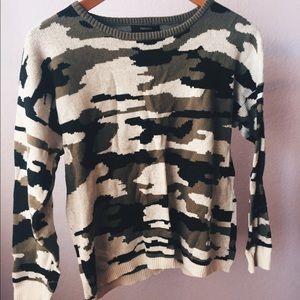 Cute camo sweater
