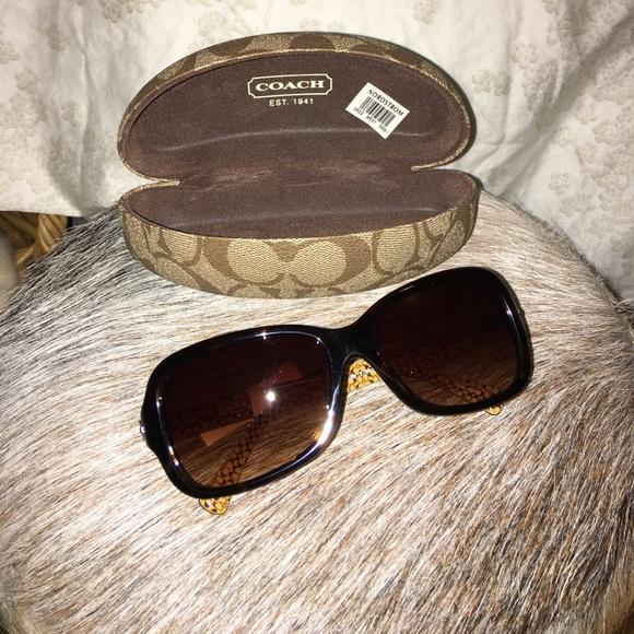fc4e22bd0ba7 Coach Accessories | Ciara Dark Tortoise Sunglasses New W Tags | Poshmark