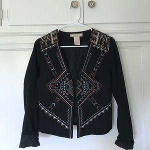 Flying Tomato Jackets & Blazers - Aztec Print Blazer