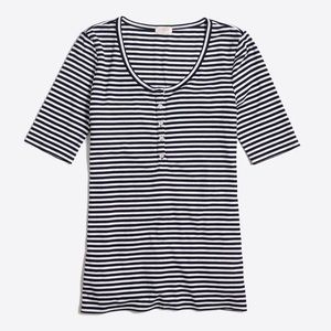 JCREW striped Henley top!