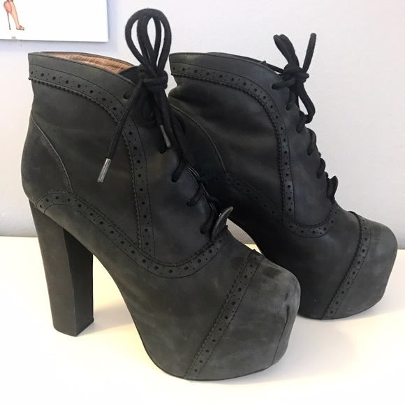 63 off jeffrey campbell shoes black jeffrey campbell lita platform boot from mineh 39 s closet - Jeffrey campbell lita platform boots ...