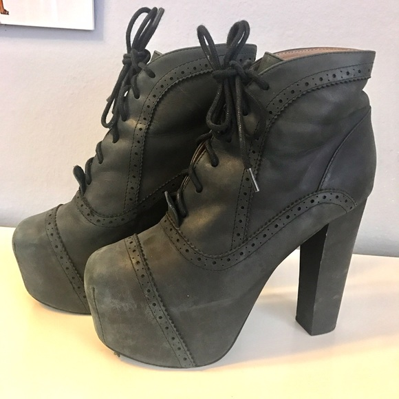 63 off jeffrey campbell shoes black jeffrey campbell lita platform boot from mineh 39 s closet. Black Bedroom Furniture Sets. Home Design Ideas