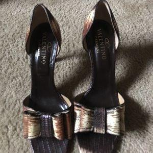 Valentino Garavani Shoes - Valentino Garavani snake skin shoes!!!