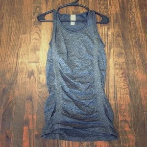 CALIA by Carrie Underwood Tops - Dark Gray Calia Sinched Tank Top