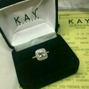Kay Jewelers Jewelry - Kay Jewelers Morganite Ring 10k