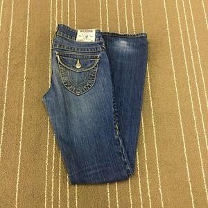 True Religion Denim - True Religion Women's 26 Boot Cut Jeans
