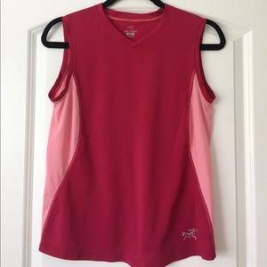 Arc'teryx Tops - [Arc'Teryx] Hot pink sleeveless top - Size M