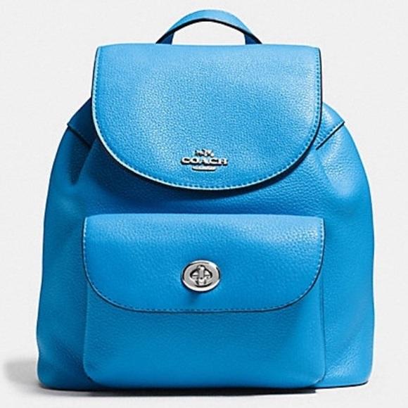 219d12236a8f Coach Handbags - Coach mini Billie pebbled leather backpack