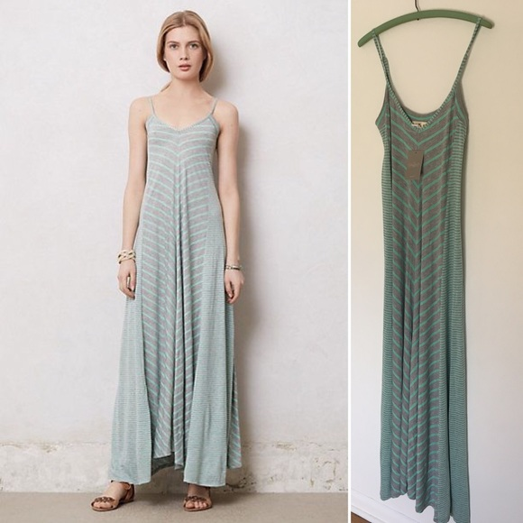 45 off anthropologie dresses skirts nwt anthropologie for Anthropologie mural maxi dress