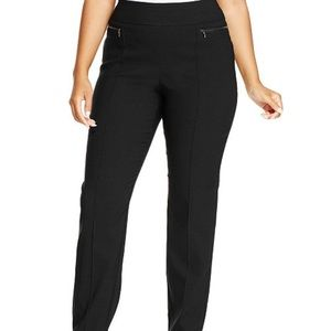 Style & Co Pants - Style&co plus size zip pocket skinny pants