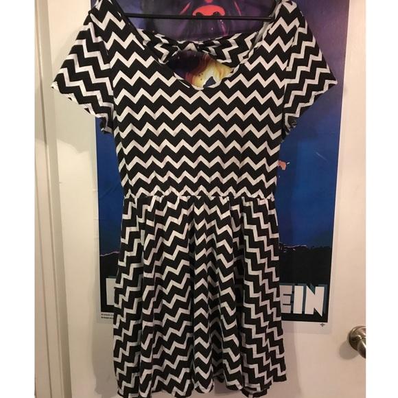 Wet Seal Plus Size Chevron dress