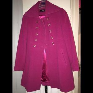 Pretty in Pink 💕 Wool Pea coat