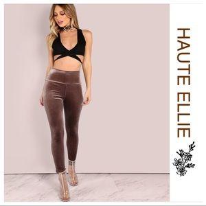 Haute Ellie Pants - 🆕 Velvet High Wait Leggings