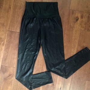 TOBI High-Waisted, Faux Leather Leggings