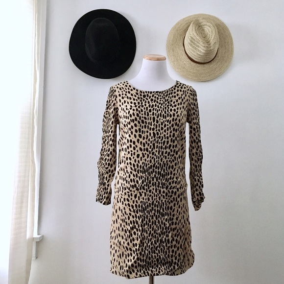 J. Crew Dresses & Skirts - JCrew Leopard Print Tunic Dress