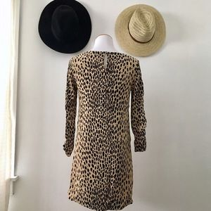 J. Crew Dresses - JCrew Leopard Print Tunic Dress