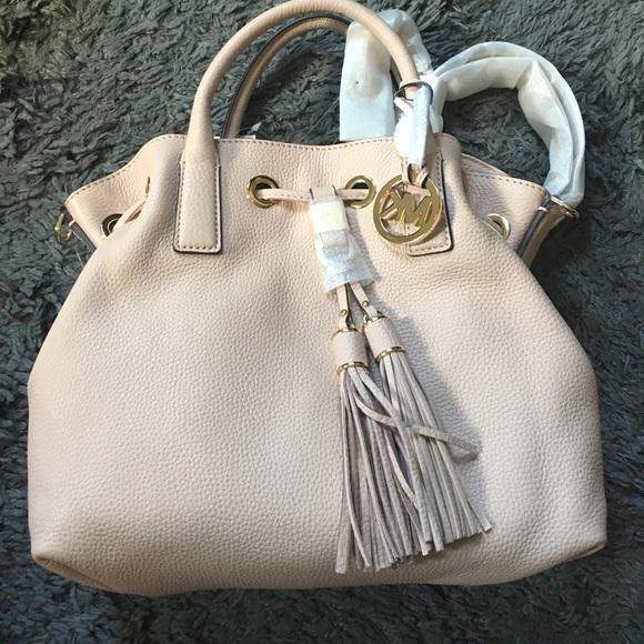 Michael Kors Bags   Brand New Blush Pink Bucket Bag   Poshmark 4f576bfd9b