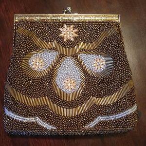Vintage Beaded Handbag..A Beauty⭐