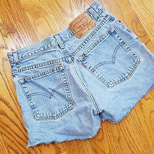 Levi's Pants - Levi's Vintage 555 Shorts