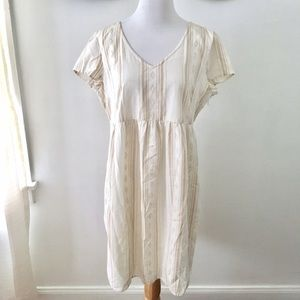 Old Navy Cream Maternity Dress