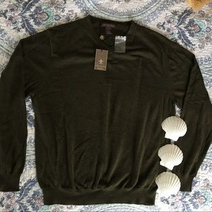 Chatham Road Other - NWT Mens Sweater cotton-cashmere blend