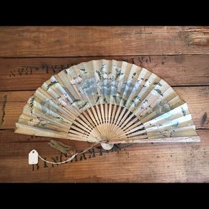 Accessories - Blue Vintage Fan.