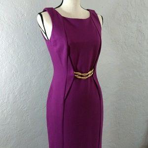 Taylor Dresses & Skirts - TAYLOR PLUM COLOR DRESS