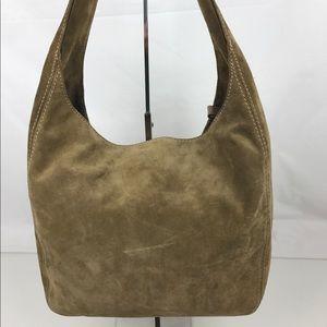 Michael Kors Handbags - Michael Kors Suede Lena Large Shoulder Hobo Bag