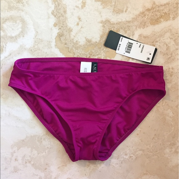 Lauren Ralph Lauren Other - NWT Lauren by Ralph Lauren bikini bottoms, sz 6/Sm