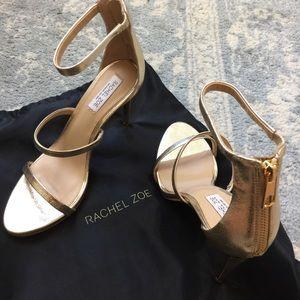 Rachel Zoe Shoes - NEW Rachel Zoe Strappy Gold Sexy Heels