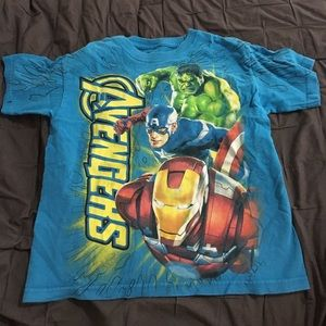 Marvel Other - Avengers tee size 6/7
