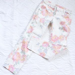 Old Navy Pants - Old Navy Floral Pixie Pants