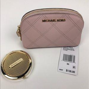Michael Kors Handbags - Michael Kors Blossom Cosmetic Case & mirror