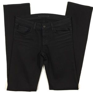 J Brand Denim - J Brand Cigarette Jeans in Jett