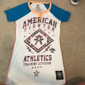 American Fighter Tops - American Fighter Graphic T
