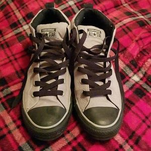 Converse Other - Gray and Black Chuck Taylors