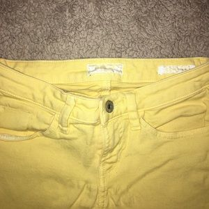 Guess Jeans - Guess Yellow Britney Skinny Jeans
