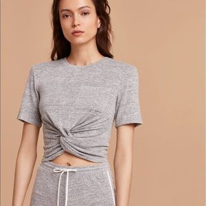 Aritzia Tops - Wilfred Free Cropped Tee