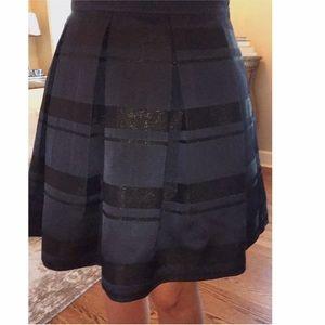 Vineyard Vines Skirts - Vineyard Vines Metallic Stripe Jacquard Skirt