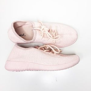 Yeezy Shoes - Yeezy Inspired Pink Shoes.