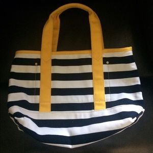 Canvas bag by J.Crew