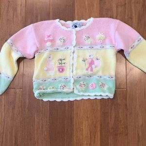 Hartstrings Other - Insanely Cute Hartstrings Easter Cardigan