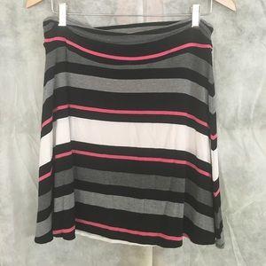 Merona Dresses & Skirts - 🌷L Merona Stripe Skirt