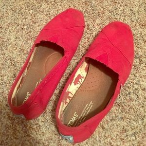 Shoes - Red Toms