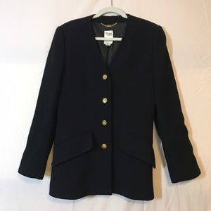 Celine *vintage* black wool blazer