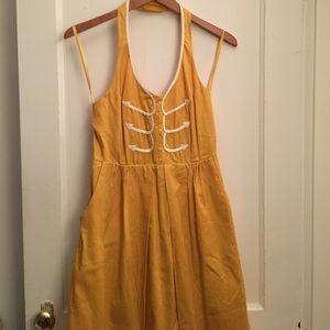 NWT Anthropologie halter dress