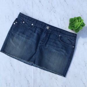 Rock & Republic Dresses & Skirts - Rock and Republic Denim Mini Skirt Size 32 Stretch