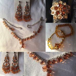 Jewelry - Orange Jewlery BUNDLE