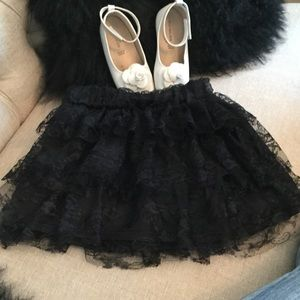 Poetry Clothing Other - Poetry Clothing black tulle skirt Size S