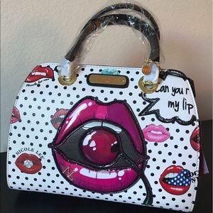Handbags - Cherry lip handbag